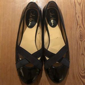 Cole Haan Black Patent Leather Ballet Flats 7